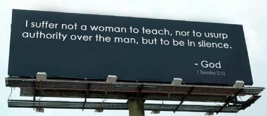 是耶?非耶?——論「我不許女人講道」