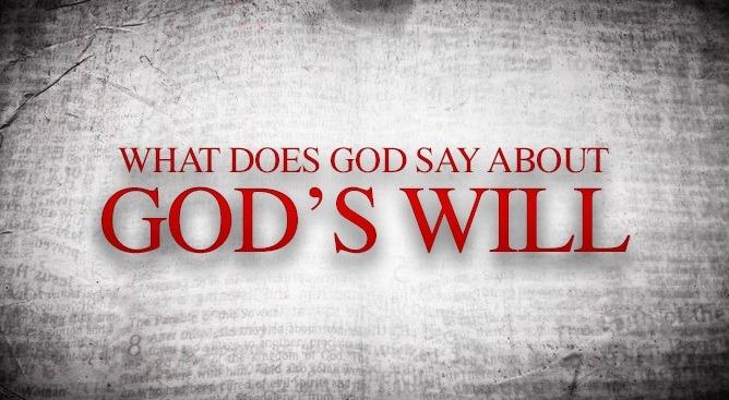 到底什麼是神的旨意?